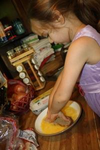 Jemma dipping bread