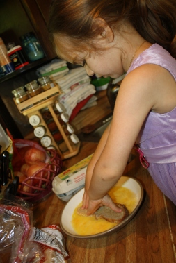 Jemma dipping bread